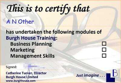 Training Programme Design Keeping your people up to date Burgh House Training & Development